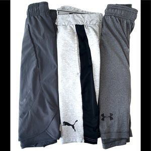 (3) Men's Athletic Shorts